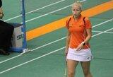 G.Voitechovskaja skynė pergales badmintono turnyro Estijoje kvalifikacijoje