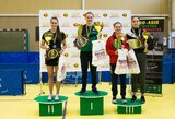 K.Riliškytė ir M.Stankevičius tapo Lietuvos stalo teniso čempionais
