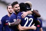 Tautų lyga: 6 įvarčių fiesta baigėsi Prancūzijos rinktinės pergale prieš švedus