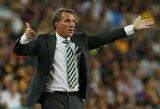 """B.Rodgersas: """"Jeigu """"Celtic"""" žaistų """"Premier"""" lygoje, jie būtų tarp keturių stipriausių komandų"""""""