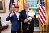 Netikėta: C.Covingtoną UFC turnyre iš arti palaikys D.Trumpas jaunesnysis