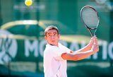 Dėl Prezidento teniso taurės pagrindinėse varžybose kausis penki lietuviai