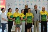 Palangos baseine kovos ir olimpinis vicečempionas