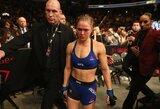 R.Rousey nesutinka baigti karjeros, bet UFC prezidentas nebenori jos matyti narve
