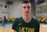 Lietuvos dvidešimtmečių rinktinė išvyko į Europos čempionatą