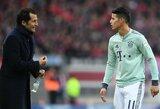 """S.Effenbergas: """"J.Rodriguezas turėtų palikti """"Bayern"""", jei nori vėl džiaugtis savo karjera"""""""