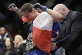 Skandalu pasibaigusioje istorinėje UFC kovoje – H.Holm nesėkmė