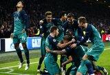 """Dar vienas stebuklas: trijų įvarčių deficitą panaikinęs ir 96-ąją minutę įvartį pelnęs """"Tottenham"""" iškovojo bilietą į Čempionų lygos finalą"""