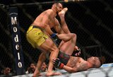 """UFC Rio Ranče: C.McGregoras """"patrolino"""" neįprastu būdu laimėjusį D.Sanchezą, J.Blachowiczius pirmajame raunde nokautavo C.Andersoną"""