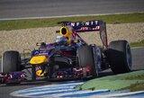 """S.Vettelis: """"Naujasis bolidas - žingsnis į priekį"""""""