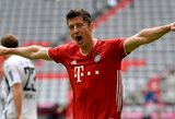 """""""Bayern"""" puolėjas R.Lewandowskis išrinktas geriausiu šio sezono """"Bundesliga"""" čempionato žaidėju"""