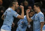 """""""Man City"""" sumindė """"West Ham"""" ir beveik užsitikrino vietą Anglijos lygos taurės finale"""