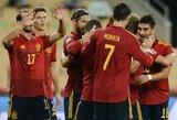 6 įvarčius vokiečiams atseikėjusi Ispanijos rinktinė iškovojo bilietą į Tautų lygos finalines kovas