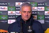 """J.Mourinho po sensacingo pralaimėjimo: """"Jaučiu daug daugiau nei tik liūdesį"""""""
