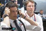 """""""Mercedes"""" ir L.Hamiltono planuota šventė Vokietijoje baigėsi fiasko: """"Tai buvo karma"""""""