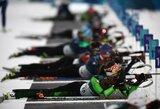 Po dopingo kontrolierių atvykimo biatlono varžybose atsisakė startuoti 33 rusai