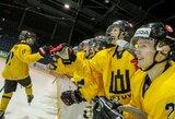 Pasiruošimą čempionatui Vilniuje Lietuvos U-20rinktinė baigė per pagrindinį laiką pralaimėdama britams, bet laimėdama pratęsime ir baudinių serijoje