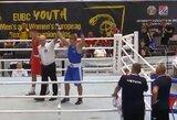 Europos jaunimo bokso čempionate – G.Savicko pergalė
