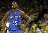 """Netikėta: """"Clippers"""" prarado viltis įsigyti K.Durantą"""