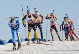 Pasaulio biatlono taurės etapas baigėsi T.Berger ir O.Moraveco pergalėmis