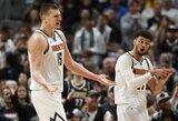 """Traumų išretinta """"Bucks"""" pralaimėjo Denveryje"""