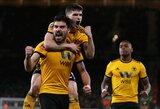 """Anglija: """"Wolverhampton"""" paskutinę minutę išsigelbėjo kovoje su """"Newcastle United"""""""