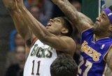 """""""Lakers"""" neatsilaikė prieš absoliučius NBA autsaiderius"""