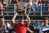 Teniso pasaulyje nustatytas pirmas koronaviruso atvejis, R.Federeris paaukojo milijoną
