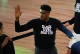 """G.Antetokounmpo papasakojo, kaip """"Bucks"""" nusprendė nežaisti NBA rungtynių"""