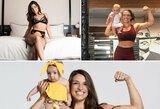 Į UFC narvą viena gražiausių organizacijos kovotojų sugrįš praėjus vos keturiems mėnesiams po gimdymo