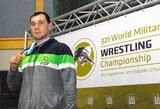 M.Knystautas – pasaulio kariškių imtynių čempionato nugalėtojas, J.Petravičiui ir D.Domikaitytei – bronzos apdovanojimai