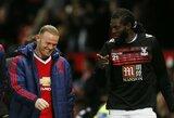 """FA taurę iškovoti trokštantis E.Adebayoras: """"Noriu, kad Anglijoje mane prisimintų kaip D.Drogbą"""""""