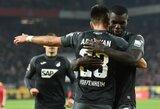 """""""Hoffenheim"""" 98-ąją minutę išplėšė pergalę prieš """"Koln"""""""