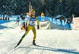 Europos biatlono čempionate Lietuvos rinktinė aplenkta visu ratu