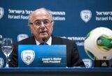 """S.Blatteris: """"Rengti pasaulio čempionatą Katare – klaida"""""""