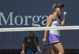 """E.Svitolina pirmą kartą karjeroje žais """"US Open"""" pusfinalyje"""