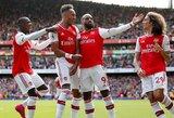 """A.Lacazette'o ir P.E.Aubameyango įvarčiai padovanojo """"Arsenal"""" antrą pergalę """"Premier"""" lygoje"""
