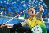"""Kuklusis šalies rekordininkas E.Matusevičius: """"Noriu, kad po mano ieties metimo visas pasaulis ištartų """"Vau"""""""