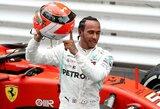Nuolatinį M.Verstappeno spaudimą atlaikęs L.Hamiltonas triumfavo Monake, S.Vetteliui į rankas nukrito antra vieta