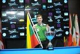 P.Labutis – Europos jaunimo pulo čempionas