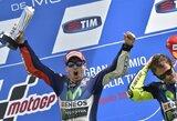 """J.Lorenzo laimėjo trečią """"MotoGP"""" etapą iš eilės, M.Marquezas krito nuo motociklo"""
