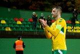 Lietuvos futbolo rinktinėje – pasikeitimas saugų grandyje