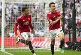 """A.Sanchezo ir A.Herreros įvarčiai padovanojo """"Man United"""" kelialapį į FA taurės finalą"""