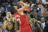 """J.Valančiūnas: """"Po NBA finalų duosiu Greenui pasirašyti ant mano įtvaro"""""""