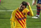 """L.Messi nepateko į """"L'Equipe"""" simbolinę rinktinę"""