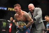Naujasis UFC reitingas: D.Poirier aplenkė C.McGregorą, bet liko už M.Holloway nugaros