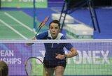 """A.Stapušaitytė kartu su klubu """"BC Duinwijck"""" tapo Olandijos badmintono aukščiausios lygos čempionais"""