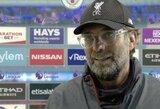 """J.Kloppas po mačo su """"Man City"""" pyko ant """"Sky Sports"""" žurnalisto"""