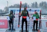 Pirmaisiais 2021-ųjų Lietuvos biatlono čempionais tapo V.Strolia ir estė T.Tomingas
