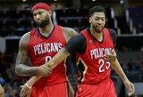 NBA sutrumpino mainų langą